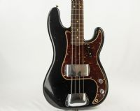 Fender Custom Shop  60s Precision Bass JRN Relic Aged Black Roasted Neck